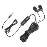 Microfones Boya By-m1dm Condensador  Omnidirecional Preto