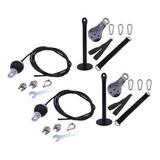 Fitn Polea Cable Machine Accesorio Tríceps Entrenamiento