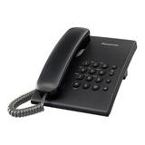 Teléfono Fijo Panasonic Kx-ts500 Negro
