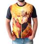 Camiseta Naruto Shippuden Camisa Masculina Animes Series Original