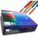 Pack De 2 Cables Kalop Normalizado Iram 4 Mm Cat 5 Colores