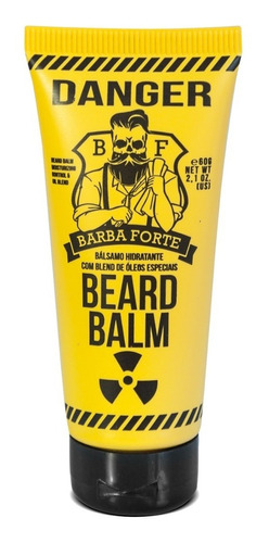Bálsamo Hidratante Para Barba Beard Balm Danger  Barba Forte