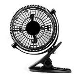 Mini Ventilador Recargable Usb C/clip Para Escritorio Yotros