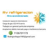 Rv Refrigeracion Servicio Técnico Aire Acondicionado