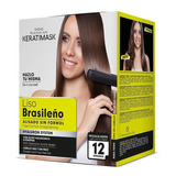 Kit Keratina Keratimask Liso Brasileño Alisado Sin Formol