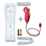 Controlador De Nintendo Wii / Wii U Remote Plus (blanco) Y N
