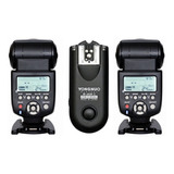 Kit De 2 Flashes Yongnuo Yn 560iii + Radio Rf 603ii N Nikon