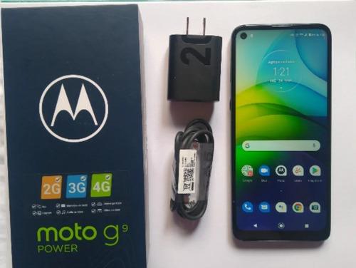 Celular Android Motorola Moto G9 Power, 128 Gb,4 Ram,6000mah