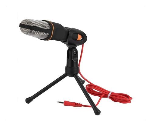 Microfono Condensador Omnidireccional Pc Streaming Zoom