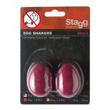 Huevo Ritmico / Shaker Stagg Egg-2 Rd Rojo