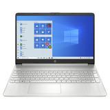 Notebook Hp 15-dy1024wm Plata 15.6 , Intel Core I3 1005g1  4gb De Ram 128gb Ssd, Intel Uhd Graphics 1366x768px Windows 10 Home
