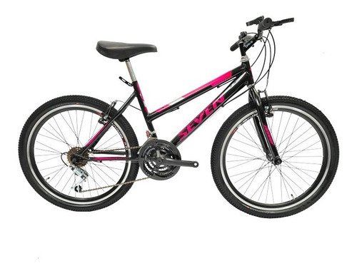 Bicicleta Todo Terreno Niña Rin 24 Doble Pared, 18 Cambios