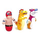 Inflables Tigre,dragón Y Luchador Para Niños