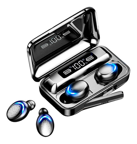 Auriculares Bluetooth F9-5 Plus Tws Tactil 5hs D Musica Gtia