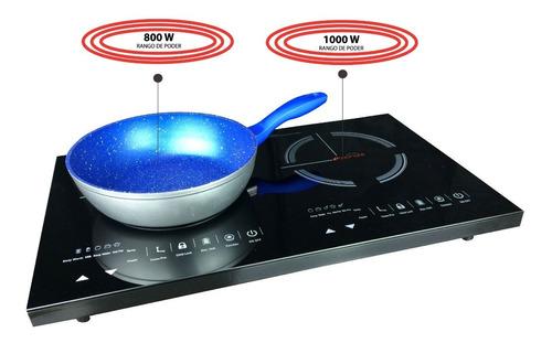 Parrilla Touch Doble Inducción Magnética Eléctrica Estufa