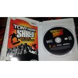 Tony Hawk Shred Nintendo Wii Juego + Patineta Con Receptor