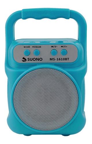 Mini Parlante Recargable Bluetooth Super Potente Radio Fm Usb Micro Sd Recargable Portatil