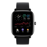 Smartwatch Amazfit Fashion Gts 2 Mini 1.55  Caja De Aleación De Aluminio Midnight Black Malla Midnight Black De Silicona A2018