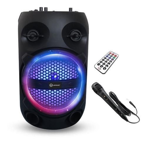 Parlante Bluetooth Inalámbrico Karaoke Usb Luz Led Fm Tws