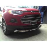 Defensa Baja Ford Ecosport Kinetic Acero Inox C/cubrecarter
