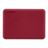 Disco Duro Externo Toshiba Canvio Advance Hdtca40x 4tb Rojo