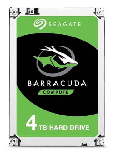Disco Duro Interno Seagate Barracuda St4000dm005 4tb