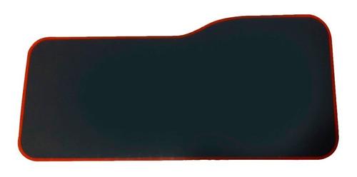 Mouse Pad Gamer Xl Antideslizante Negro Borde Cosido 75x35cm