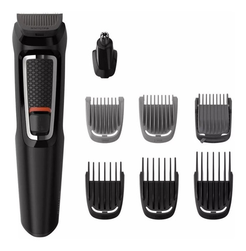 Cortabarba Multigroom Philips Mg3730/15 Barba Cabello Nariz