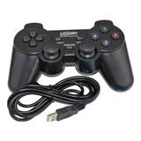 Joystick Control Alambrico Usb Pc X2 Unidades + Envio