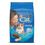 Alimento Cat Chow Para Gato Adulto Sabor Pescado En Bolsa De 15kg