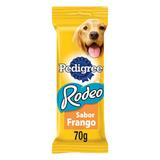 Petisco Para Cães Adultos Frango Pedigree Rodeo Pacote 70g 4 Unidades