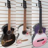 Guitarras De Estudio Para Adultos, Forro En Lona,método, Pua