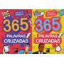 2 Livros 365 Palavras Cruzad Vol 1+365 Palavras Cruzad Vol 2 Original