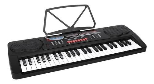 Órgano Teclado Musical 49 Teclas Con Micrófono Meike Mk4100