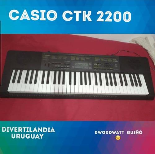 Oportunidad!! Teclado Casio Ctk 2200 Como Nuevo