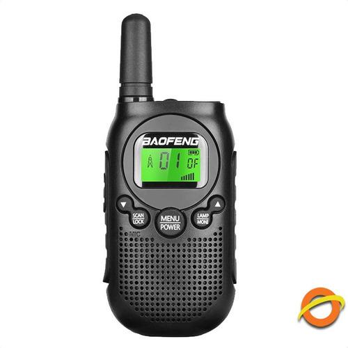 Mini Handie Baofeng Radio Handy Walkie Talkie Usb Recargable