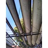 Toldo De Aluminio Plegable C/ Estructura Y Parantes Completo
