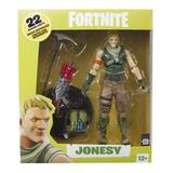 Figura Fortnite Jonesy Tfue 17cm Accesorios Y Base Oferta!