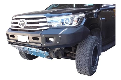 Bumper Paragolpe Reforzado Negro Toyota Hilux 2016+