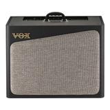 Amplificador Vox Av Series Av60 Combo Valvular 60w Negro 220v
