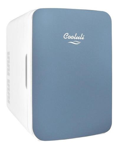 Cooluli Mini Refrigerador Infinity 10l Con Puerta De Cristal