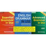 English Grammar In Use. Tres Niveles. Libros Completos.