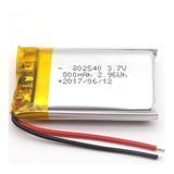 Bateria Polimero De Litio 3.7v, 800mah 902540 Gps,