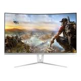 Monitor Curvo Gamemax Gmx27c144 Led 27  Blanco 100v/240v