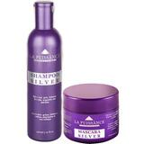 Kit Matizador Violeta La Puissance Silver Shampoo + Mascara