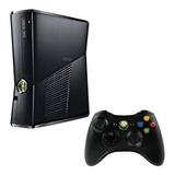 Microsoft Xbox 360 Slim 4gb Standard Color  Matte Black
