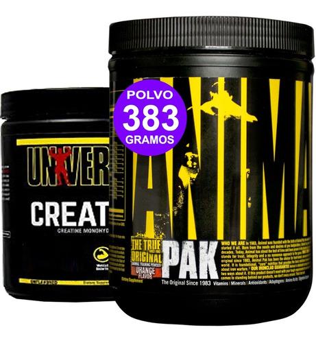 Animal Pak 383gr Creatina 300 Universal Crecimiento Muscular