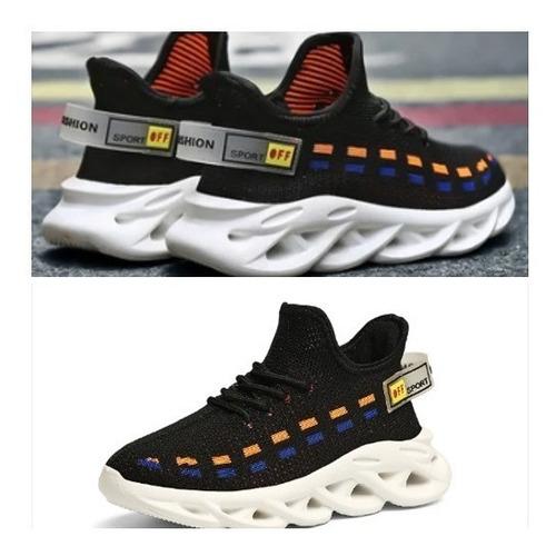 Zapatillas Importadas Negras Talle 32 Niños