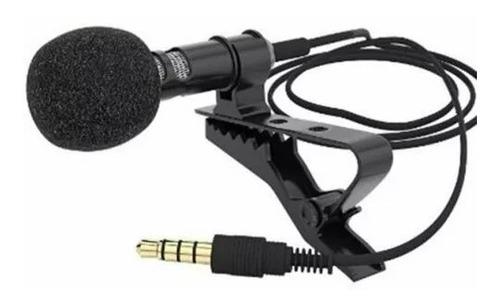 Microfono Corbatero 1.2m Para Celulares Gw-510 Metalico