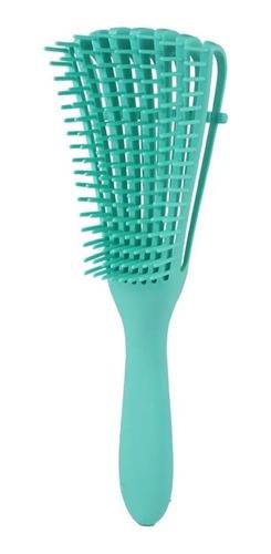 Cepillo Flexible Para Cabello Rizado, Ondulado, Afro, Crespo